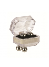 Серебристые вагинальные шарики Silver Balls In Presentation Box - California Exotic Novelties